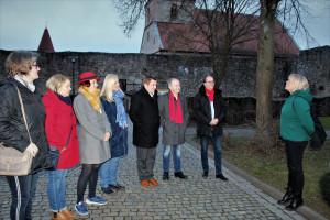 MdL Markus Rinderspacher in der Kirchenburg Ostheim