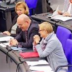 Edgar Franke u. Sabine Dittmar im Plenarsaal